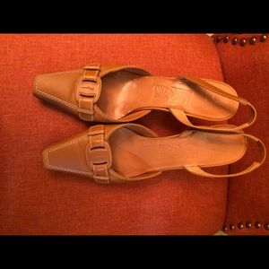 Tan women shoes